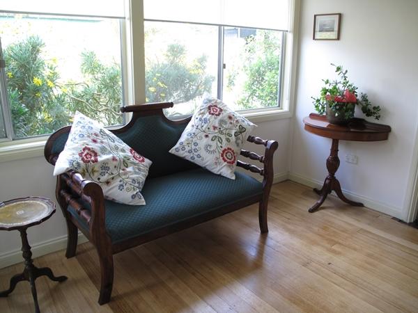 The sunroom at Tolka Cottage