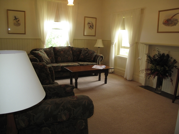 The sitting room at Tolka Cottage